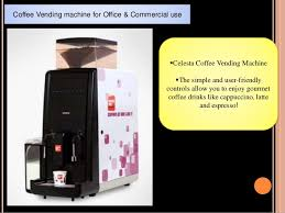 Starbucks Coffee Vending Machine Simple Coffe Chain PresentationStarbucks India