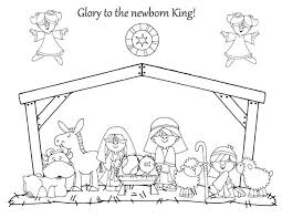 Small Picture Christmas nativity coloring pages ColoringStar