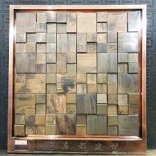 antique copper mosaic copper mosaic wall tiles metal mosaic tile sticker backsplash homemosaic decor wall tile mdt6051 by miaodumetallicmosaic