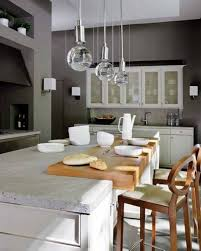 exciting over island pendant lights for your kitchen lighting decor modern chrome and round clear