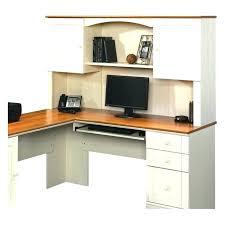 sauder corner computer desk corner computer desk harbor view corner computer desk with hutch antiqued white sauder corner computer desk