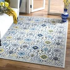 evoke vintage ivory blue distressed rug x safavieh abstract burst royal
