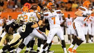 Browns Defense Depth Chart Browns Qb Battle Who Will Start Week One Heavy Com