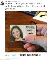 Someone Goes Celebrity News The After Extra Mile Id Him Card Same Did For Return Tom Found ' Pretty Hanks To Months Your Student's 'i