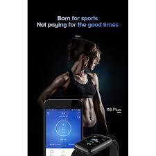 Generic Smart Watch <b>116 Plus</b> Heart Rate Smart <b>Wristband Sports</b> ...