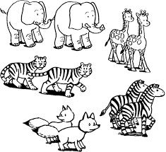 Disegni Di Animali Da Stampare E Colorare Per Bambini Mamma