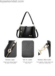the most popular turelifes shoulder bags for women soft leather handbags mother cross bags multi pockets purse whole