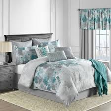 Buy Teal Comforters from Bed Bath & Beyond & Claire 10-Piece King Comforter Set in Teal Adamdwight.com