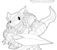 Skylanders Coloring Pages Printable Sheets Pictures To Print And