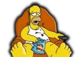 Resultado de imagen de sillon viendo la television