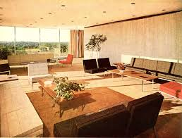 Mid Century Modern Living Room Top Glass Table On Carpet Mid Century Modern Living Room Green