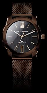 25 best ideas about men s watches nice mens men s watch pvd gold and brown strap d g watches dolce gabbana