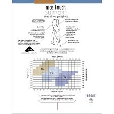 45 Memorable Nice Touch Pantyhose Size Chart