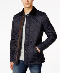 Barbour Fortnum Quilted Jacket in Blue for Men | Lyst & Gallery Adamdwight.com