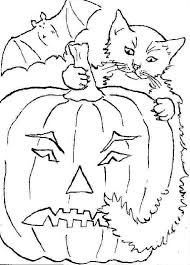 Small Picture Halloween cats coloring pages Archives Gallery Coloring Page