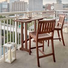 wood patio furniture. Wood Balcony Furniture Patio