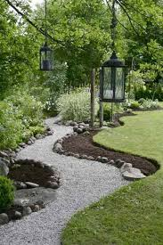 Gravel Garden Design Inspiration Garden Flow I Like The Way The Flower Bed Continues The Curve