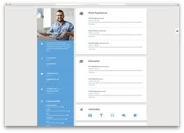Resume website template to get ideas how to make magnificent resume 8