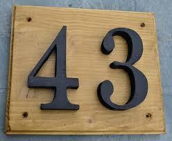 wooden house number plaque custom handmade wooden house number plaques how to make a wooden house