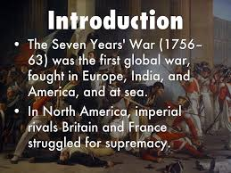 「The Seven Years' War (1756-63) 」の画像検索結果