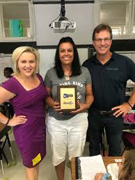 """Lena Howland on Twitter: """"She cried. I cried. @SalsaBrava_CO guy almost  cried. Beyond honored to present @KOAA's May Teachers First Award to  Richelle Gittens at Queen Palmer Elementary School in @CSSD11 this"""