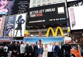Project Yellow Light Project Yellow Lights Life Saving Anti Texting Billboards
