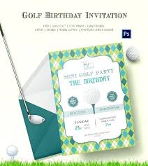 Golf Invitation Template Golf Party Invitation Golf Christmas Party Invitations Mobilespark Co