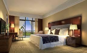 bedroom minimalist. Classic Bed In Minimalist Bedroom Decor