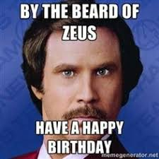 Will Ferrel Happy birthday you magnificent bastard | Happy ... via Relatably.com