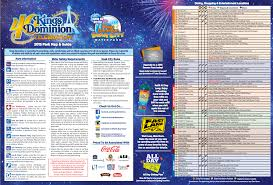 Kings Island Height Chart Theme Park Review Kings Dominion Kd Discussion Thread