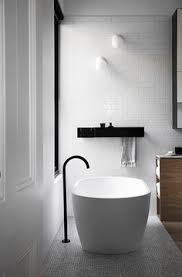 White bathroom tiles Rustic Whiting Architects Normanby White Subway Tiles And Black Floor Mixer Black Bathroom Taps Pinterest 104 Best White Bathroom Tile Images Bathroom Bathroom Modern