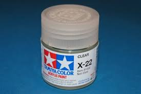 clear coat gloss for acrylic color