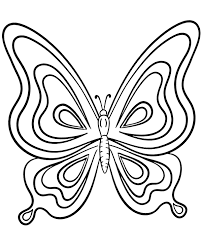 Here are some free butterfly coloring pages for you to print out. Printable Butterfly Coloring Page