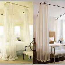 Hanging Curtains From Ceiling Pictures
