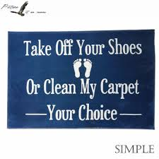 Doormat please remove shoes doormat images : Custom Life is Made of Choices & Please Remove Your Shoes Sign ...
