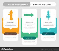 Tall Pine Tree Next Steps Fire Hydrant Infographic Stock