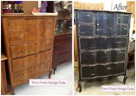 old furniture makeovers. 15 Before And After Painted Furniture Ideas Farm Fresh Vintage Finds With Regard To Refurbished Design 5 Old Makeovers