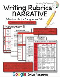 Writing Wrocks     K     Traits organization rubric Pinterest