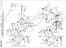 Gear shift mechanism 4 speed synchro helical gear new process 435 1964 1972 b n600 700 c500 700 f100 700 p350 500