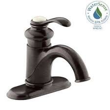 fairfax single hole single handle mid arc water saving bathroom faucet in oil oil rubbed bronze
