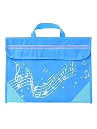 Stave Music Wavy Stave Music Bag Light Blue