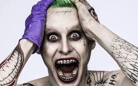 фото джаред лето татуировки Suicide Squad Joker зубы фильмы взгляд
