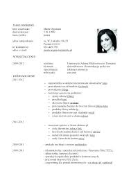 Or Resume In Template Doc A German Cv English Download Html