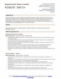 How To Be A Good Team Leader At Work Team Leader Resume Samples Qwikresume