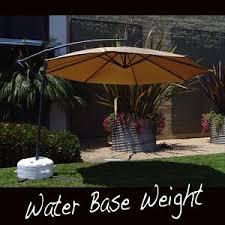 best cantilever umbrella base weight 6