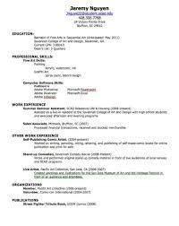 Resume Cheat Sheet Therpgmovie