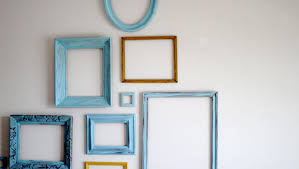 Empty picture frames on wall Small Feature Your Home Only Better Decorating With Empty Picture Frames