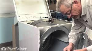 Dryer Repair Replacing The Dryer Drum Belt Frigidaire Part