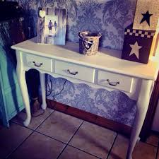 stone hall table. Shabby Chic Hall Table . Bath Stone By Autentico Chalk Paint