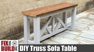 diy sofa table. DIY Sofa Table / Console | How To Build Diy N
